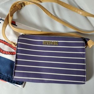 Kenneth Cole Reaction Nautical Crossbody & Scarf
